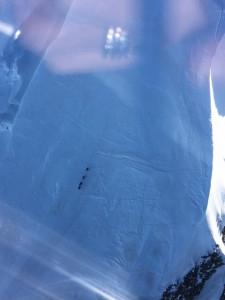 helico autour du Mont Blanc